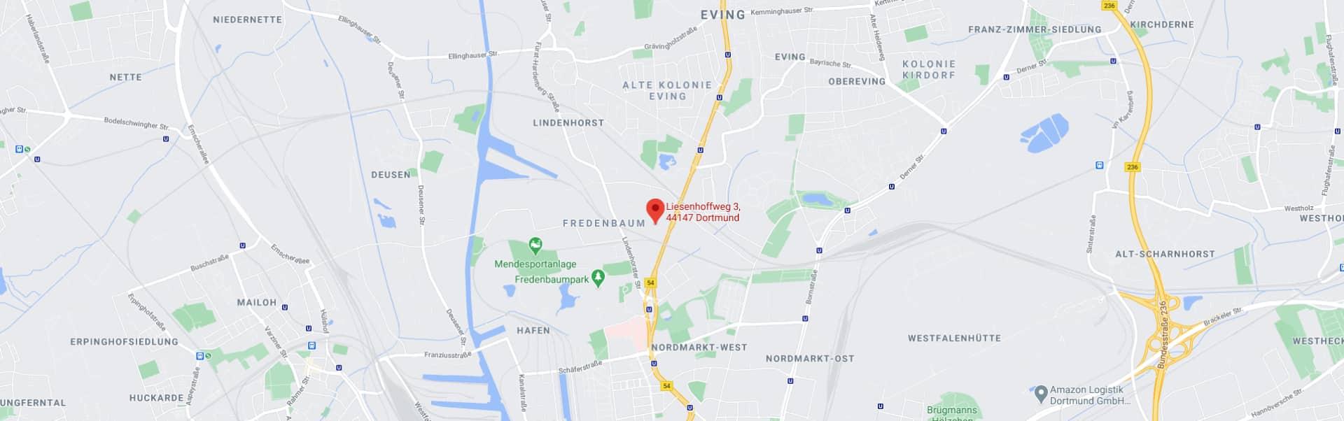 Standort von Aventec auf Karte
